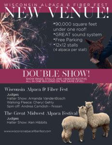 2020 Wisconsin Alpaca Fiber Festival